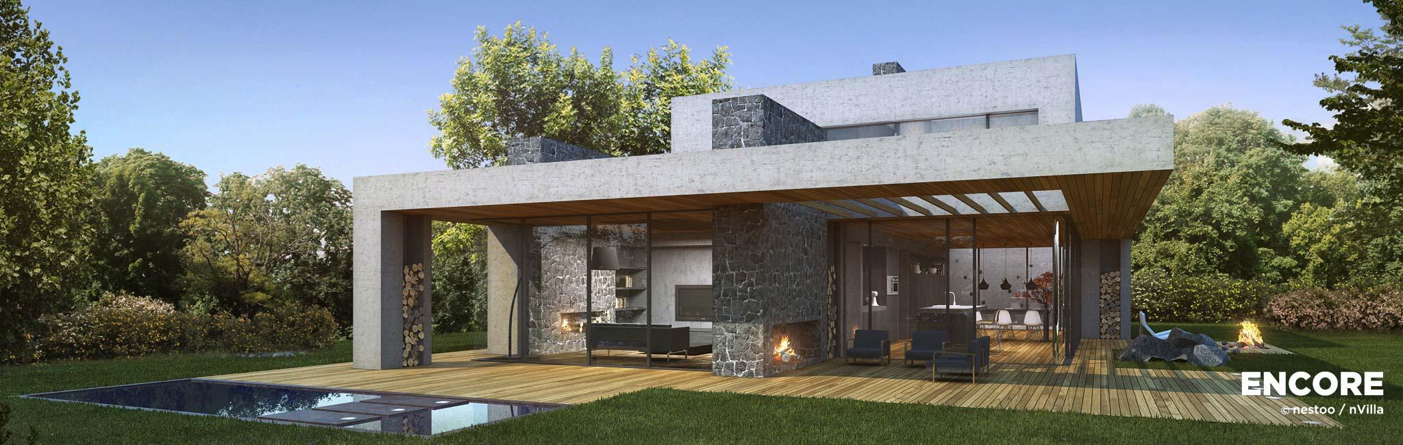 Nvilla encore nestoo for Villa moderne 2016