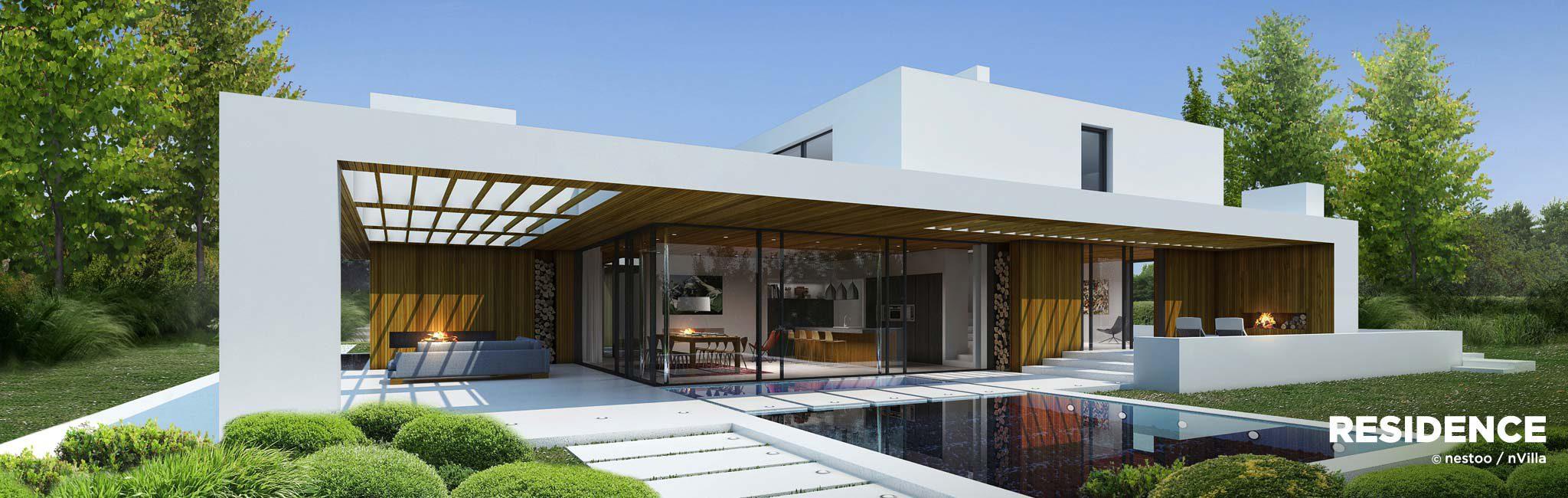 Nvilla residence nestoo for Villa moderne 2016
