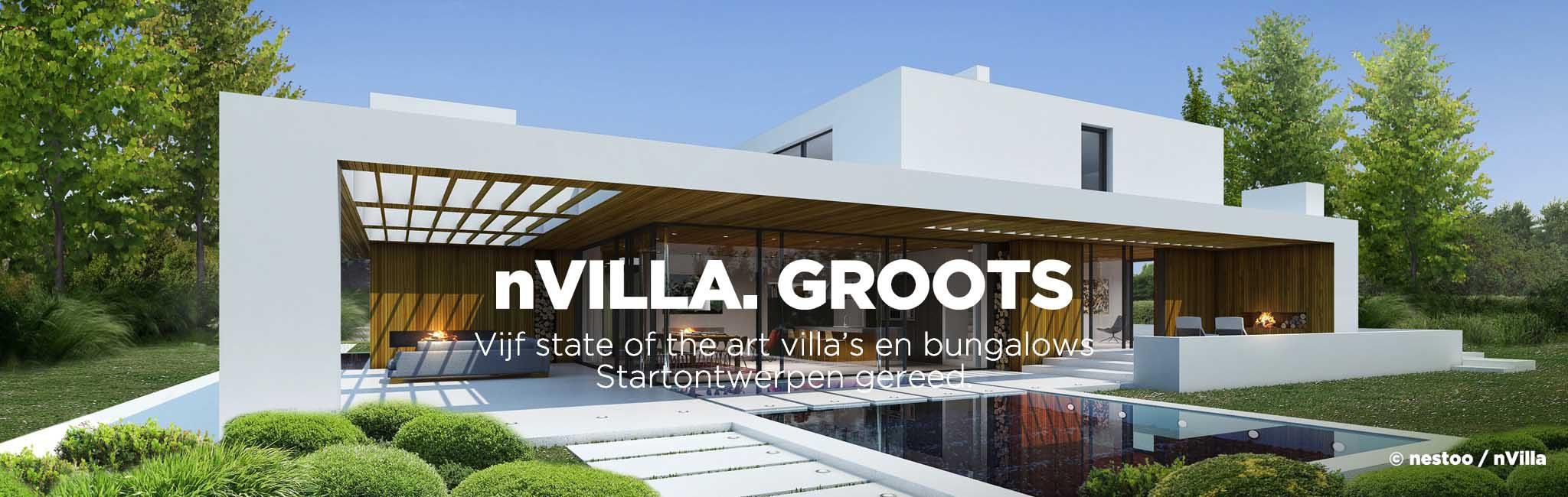 Home nestoo for Moderne villa architectuur